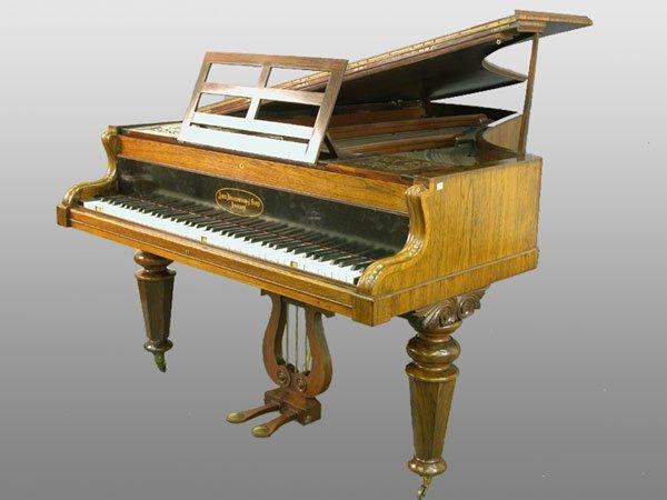 2089: Baby grand piano by John Broadwood & So