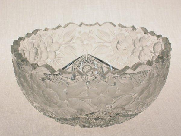6: American Brilliant Cut Glass bowl