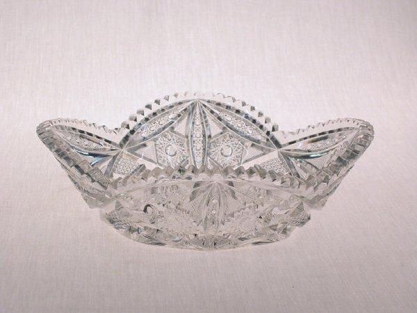 20: American Brilliant Cut Glass bowl.