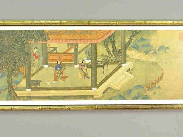 317: (5) pcs. Set of five Oriental