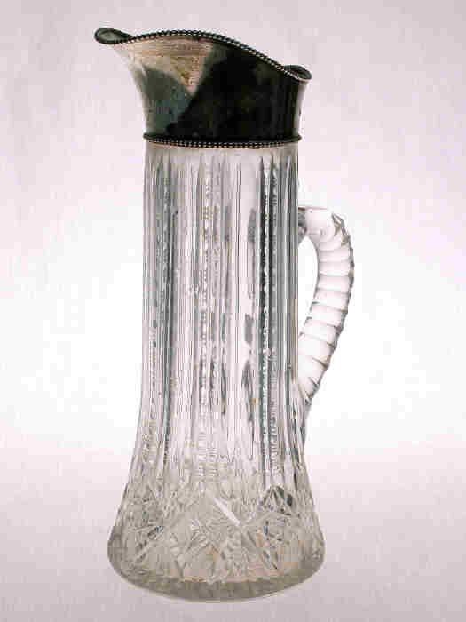 501: American Brilliant Cut Glass/sterling