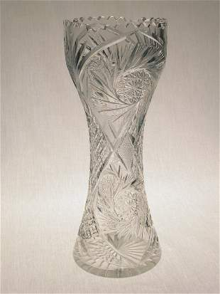 American Brilliant Cut Glass corset