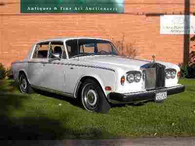 2519: 1980 Rolls-Royce Silver Shadow II 4-doo