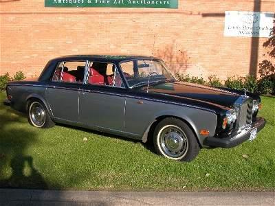 2520: 1978 Rolls-Royce Silver Shadow II 4-doo