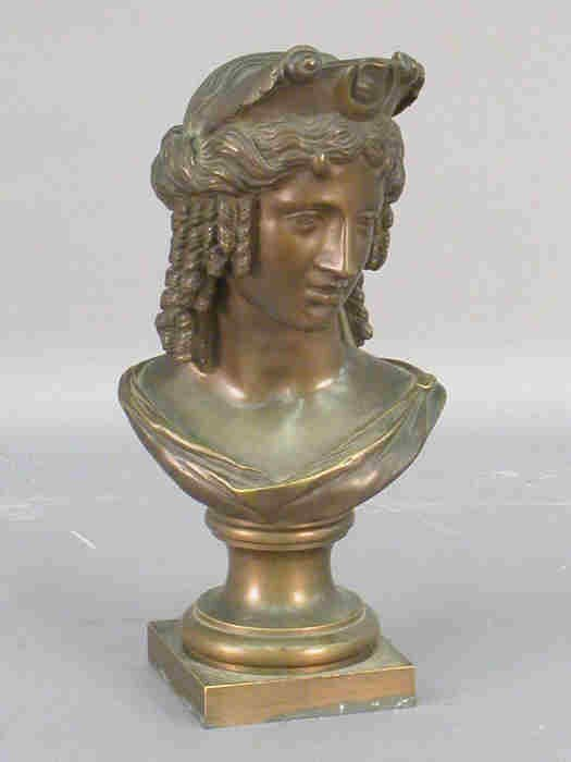 "5: Bronze of ""Isis"", marked on the side."