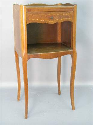 Louis XV style bedside table with