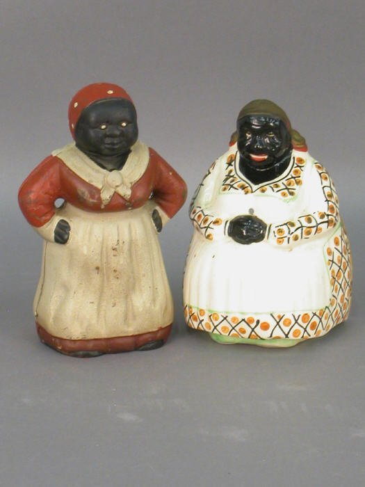 19: Nine Aunt Jemima / Mammy collectibles - 2