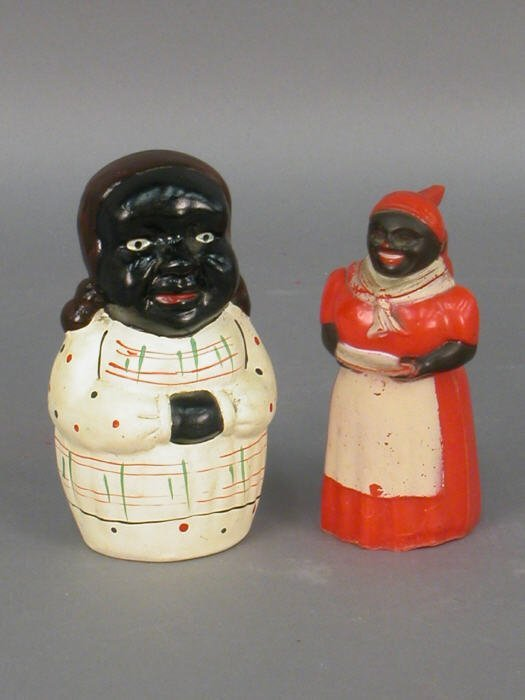 19: Nine Aunt Jemima / Mammy collectibles - 3