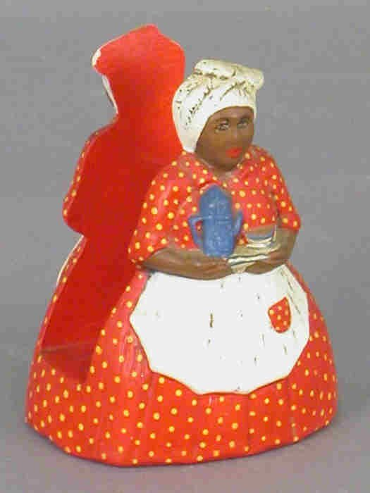 19: Nine Aunt Jemima / Mammy collectibles - 4