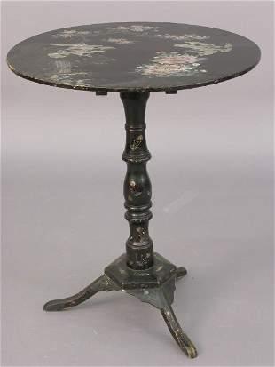 Napoleon III style tilt-top table with