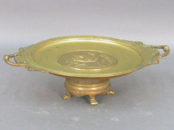 300: F. Levillain bronze tazza with