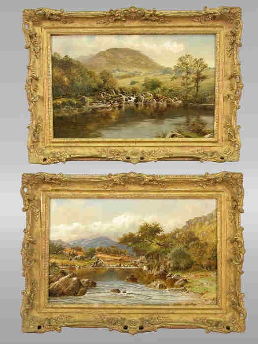 416: Pair of signed W.H. Mander (LL)