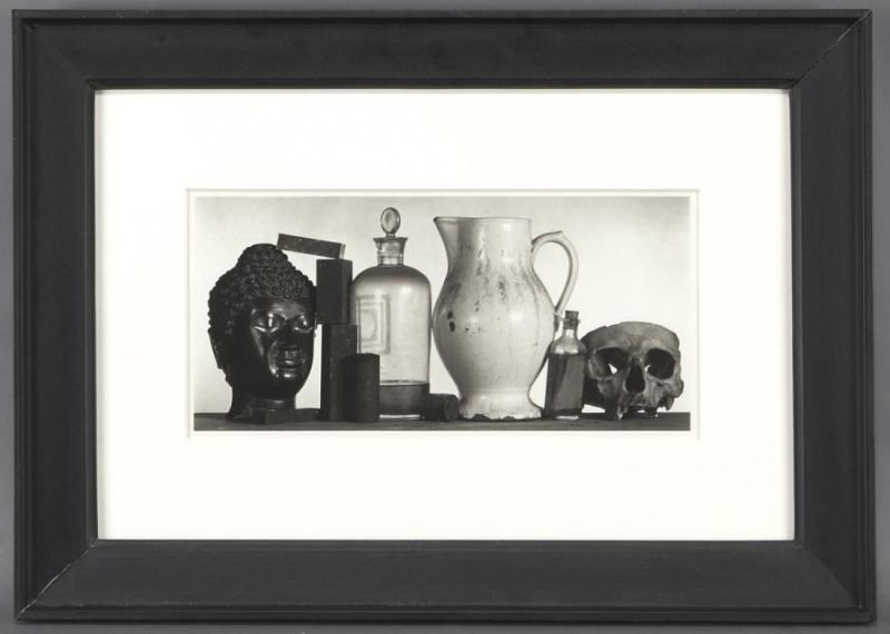 """Irving Penn, """"Still Life with Skull, Pitcher and"""