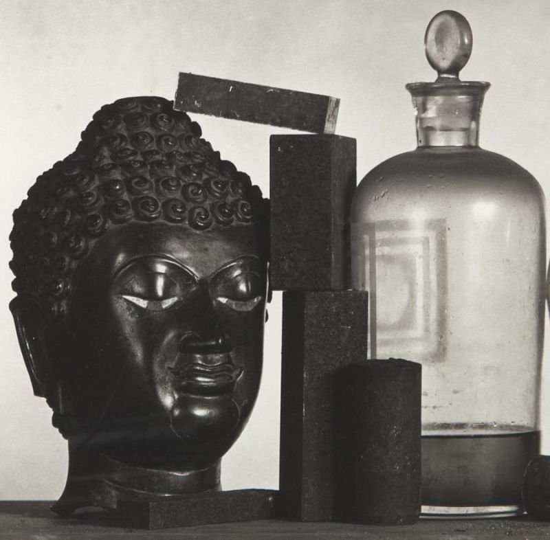 """Irving Penn, """"Still Life with Skull, Pitcher and - 3"""