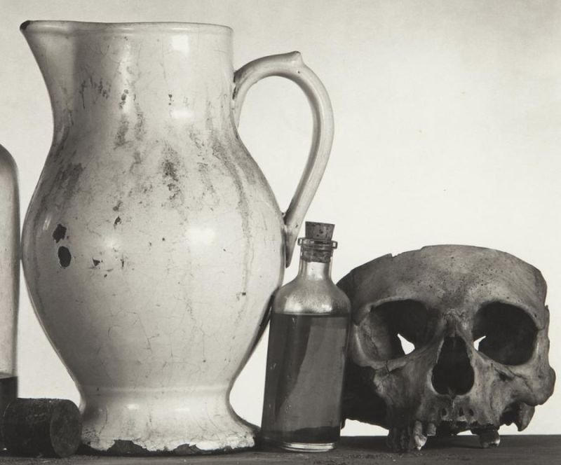 """Irving Penn, """"Still Life with Skull, Pitcher and - 4"""