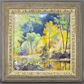 Curt Walters Flamboyance oil on canvas