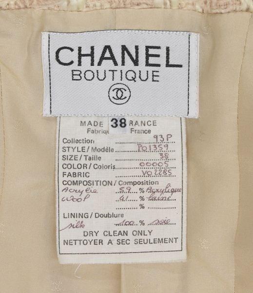 Chanel size 38 tweed jacket - 3