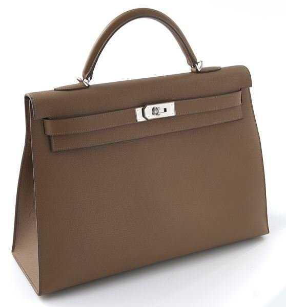 7381edf89175 Hermes 40 cm Alezan Togo leather Kelly Bag