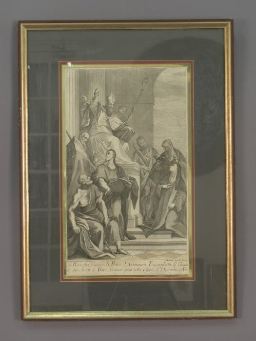 11: Signed Andrea Zucchi (LR) engraving