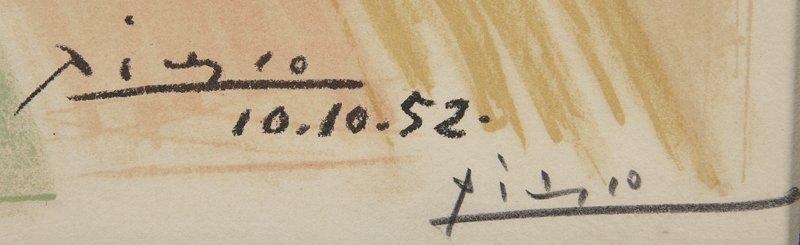 """Pablo Picasso, """"Colombe Volant à L'Arc en Ciel"""" - 5"""