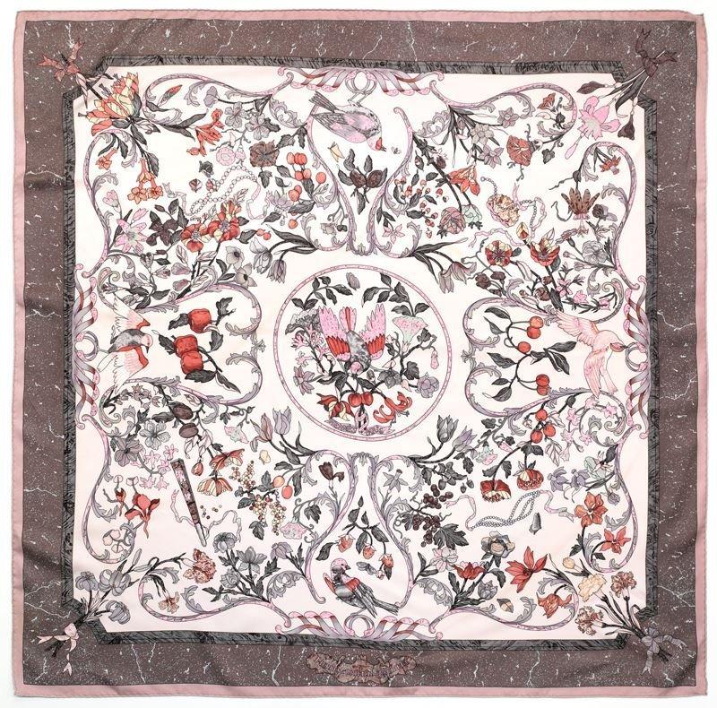 "Hermès silk ""Pierres de l'Orient"" scarf"