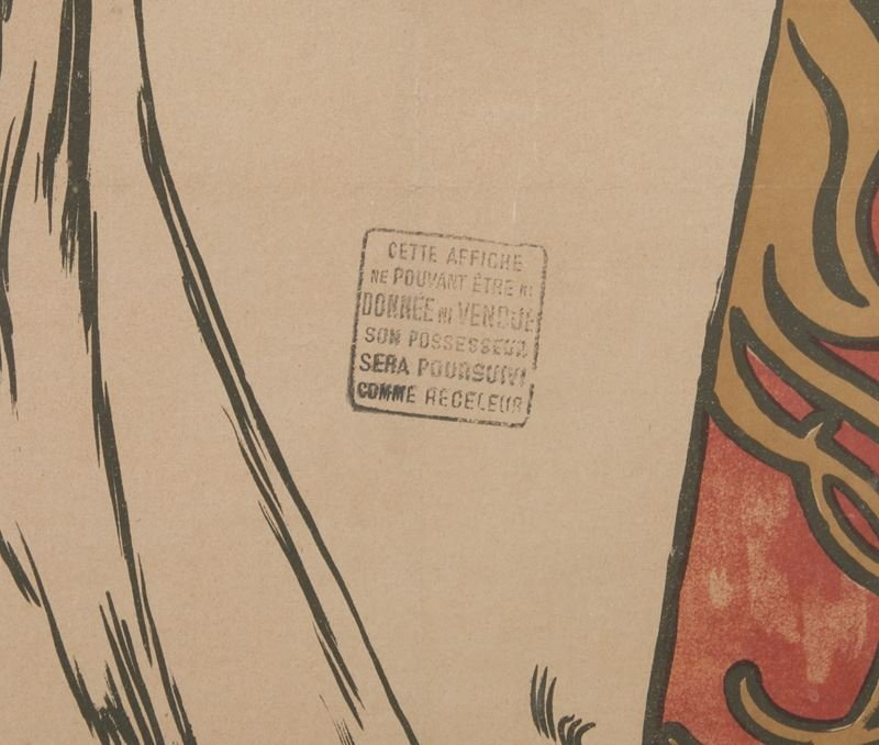 "Alphonse Mucha, ""Champagne Ruinart"" color - 7"