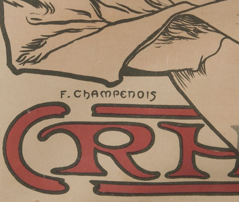 "Alphonse Mucha, ""Champagne Ruinart"" color - 9"