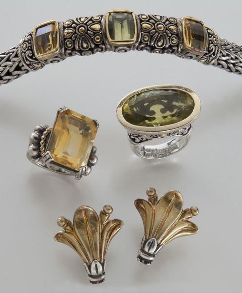 4 pcs. Lagos / John Hardy / Konstantino jewelry - 2