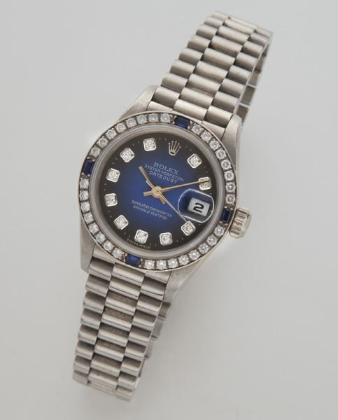 Rolex 18K Oyster Perpetual Datejust wristwatch,