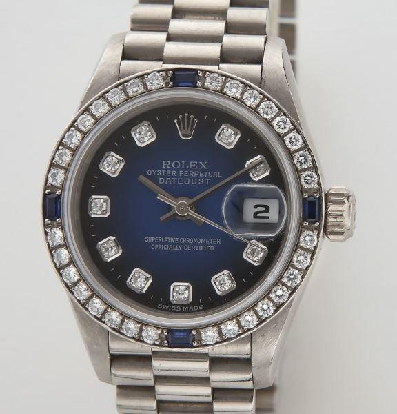 Rolex 18K Oyster Perpetual Datejust wristwatch, - 2