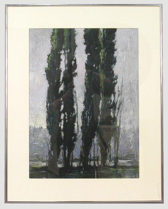 3: Signed John Fincher (LR) oil on paper