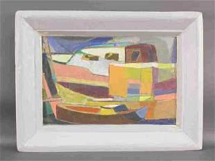 Signed P.R. McIntosh (LR) oil on canvas