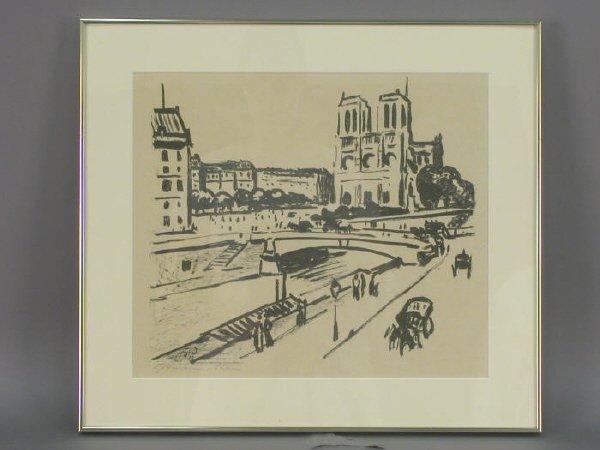 17: Signed Fritz Hoffman-Juan (LR) lithograph