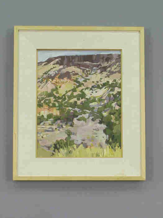 20: Douglas Atwill acrylic pastel titled