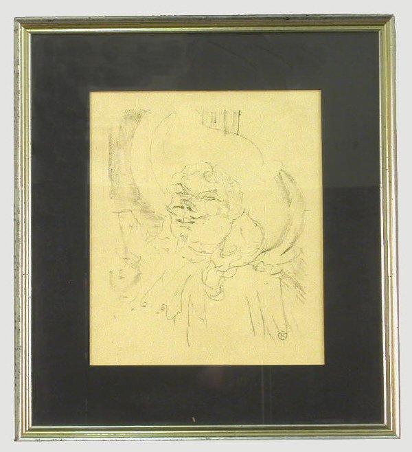 153: Henri Toulouse Lautrec lithograph titled,