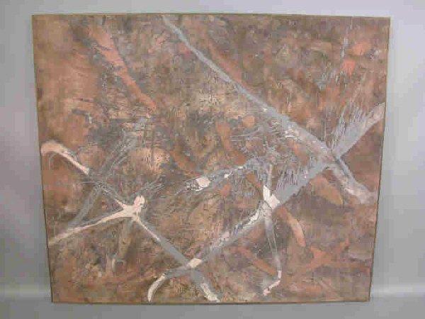 160: Zachariah Gail Rieke acrylic on linen painting