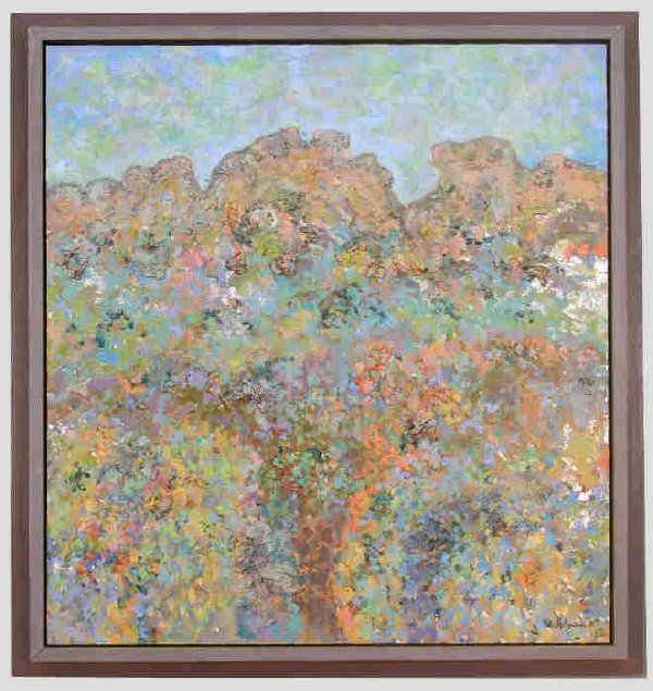 173: Signed Charles Edward Holman II (LR) oil on canvas