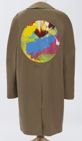"Damien Hirst, ""Spin Painting on Libertine Jacket"","