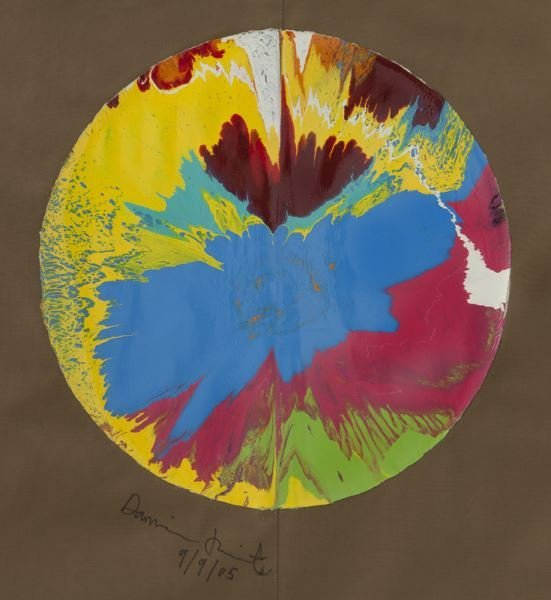 "Damien Hirst, ""Spin Painting on Libertine Jacket"", - 2"