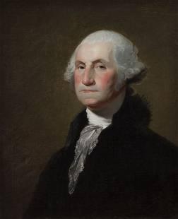 "Gilbert Stuart, ""Portrait of George Washington"""