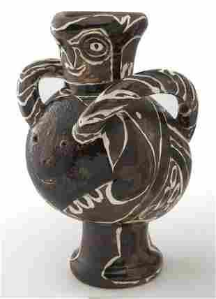 """Pablo Picasso, """"Vase deux anses grand oiseau"""""""