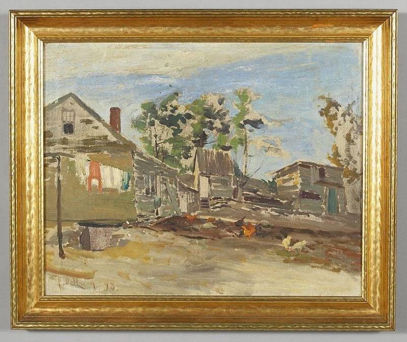 "Franklin Benjamin DeHaven, ""Untitled (Farmhouse"