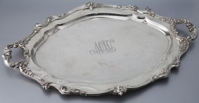 Reed & Barton Sterling Silver Serving Tray.