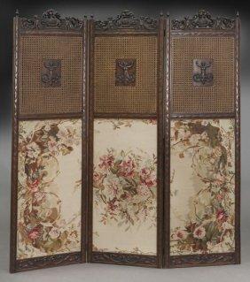 3-panel Folding Dressing Screen,