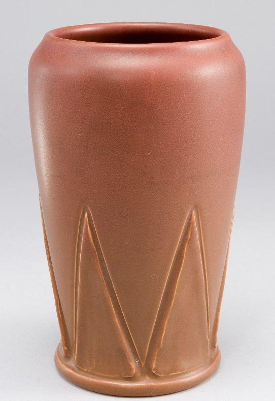20: A Rookwood vase having matte glaze and