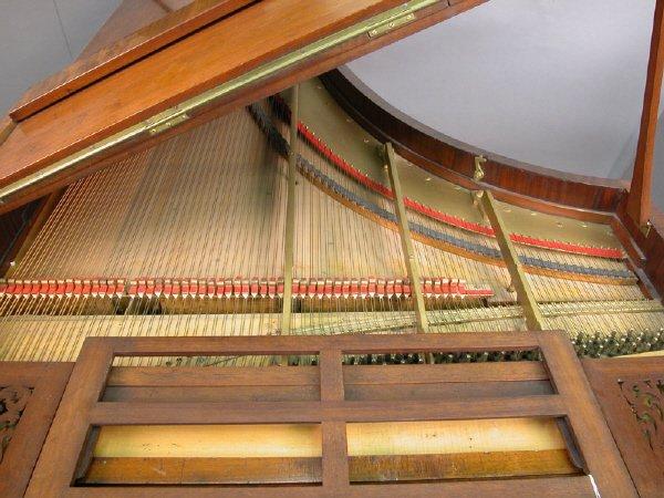 168: Collard and Collard baby grand piano, marked - 3