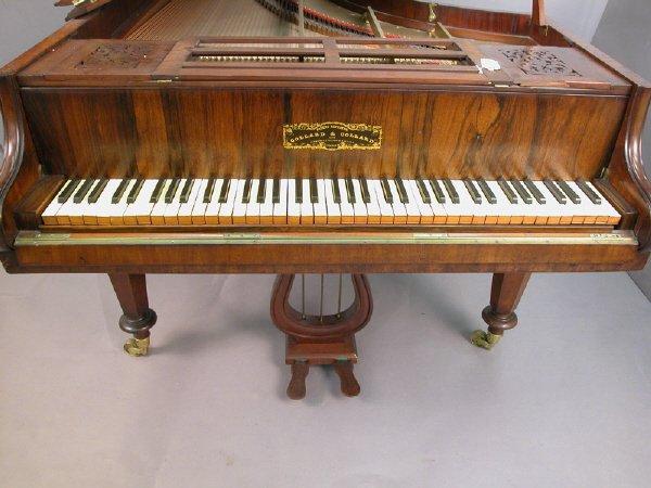 168: Collard and Collard baby grand piano, marked - 4
