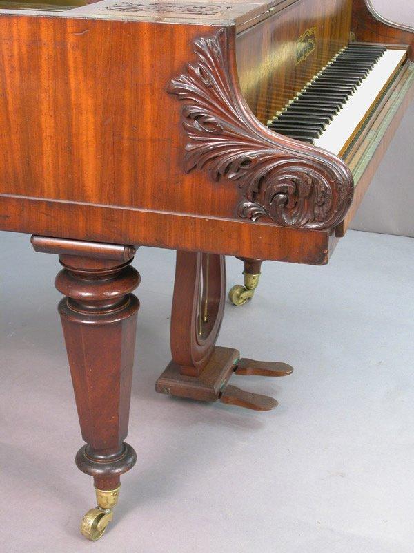 168: Collard and Collard baby grand piano, marked - 5