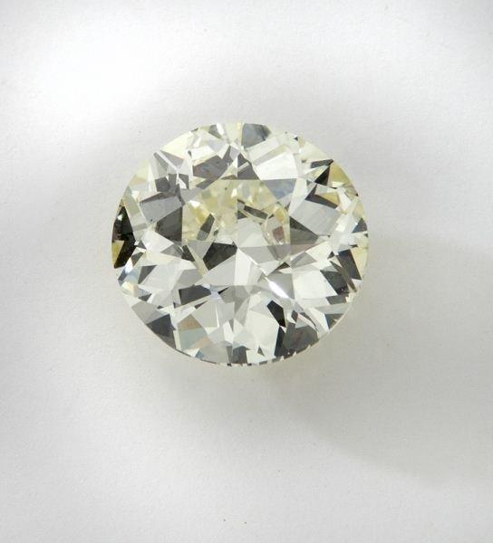6.88 Ct. old European brilliant cut diamond (GIA),
