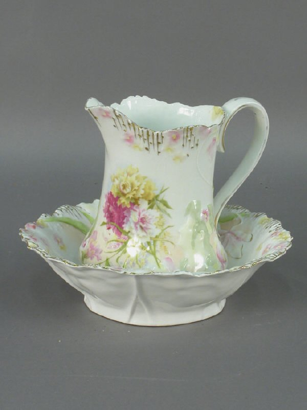 """7: 2pcs. - R.S. Prussia """"Hidden Image"""" bowl and"""